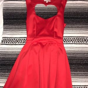 Red semi-formal Cotton On dress